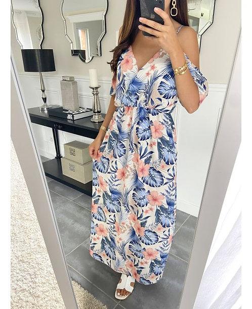 Maxi Dress IMPRIMEE WIT