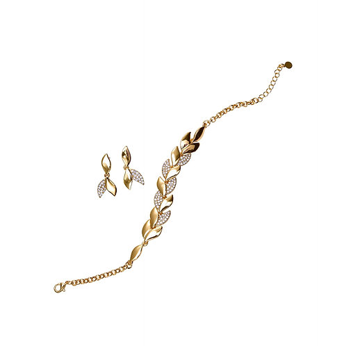 SIERADEN Polar Bracelet and Earring Set