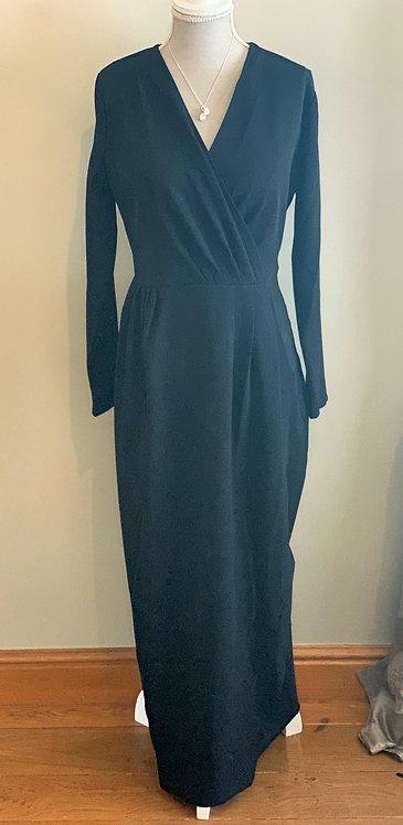 Maxi Dress Black Glitter