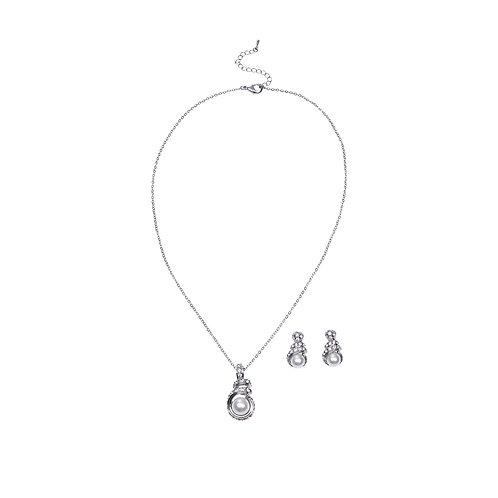 SIERADEN Polar Pearl Jewellery Set