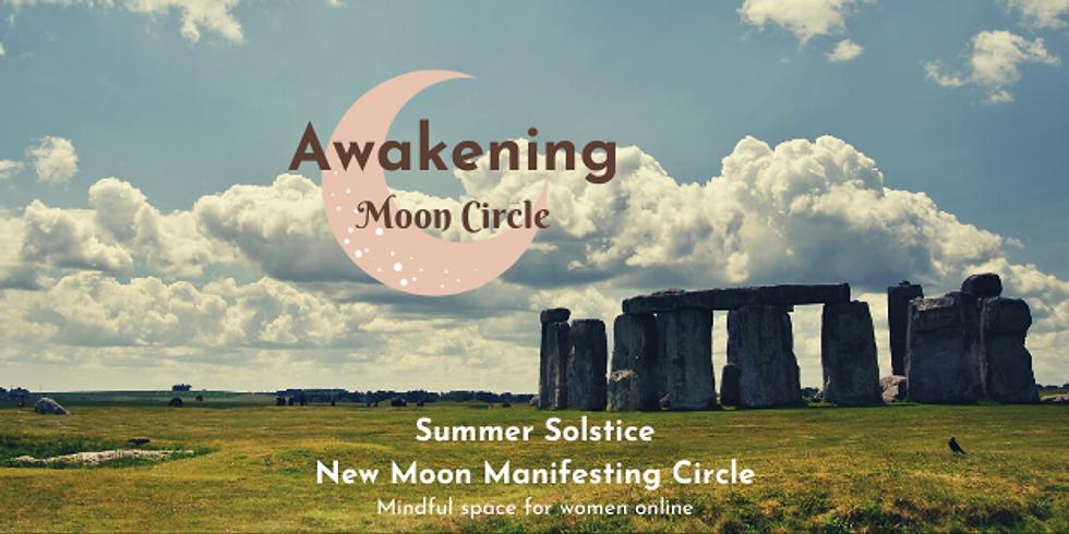 Summer Solstice New Moon Manifesting Circle