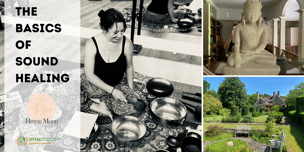Learn The Basics of Sound Healing  - One Day Course in Surrey