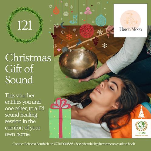 Christmas Gift of Sound - Home