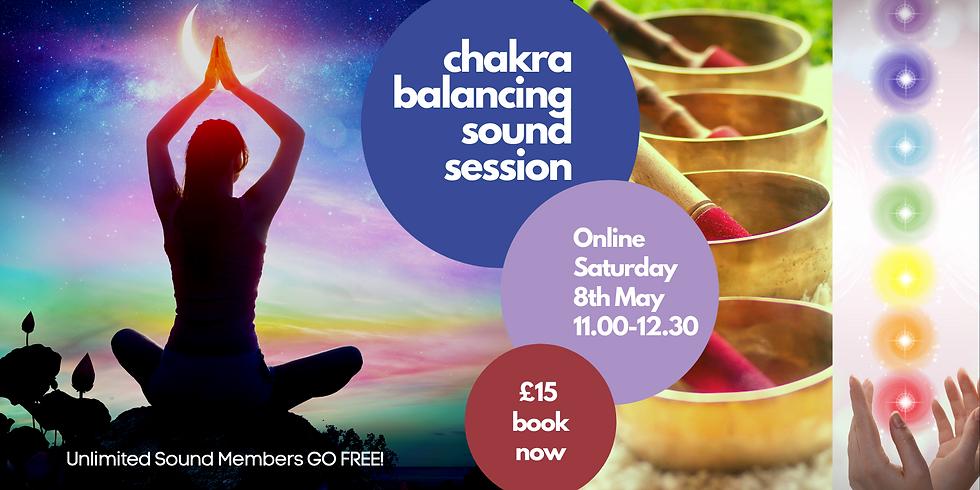 Chakra Balancing Sound Session