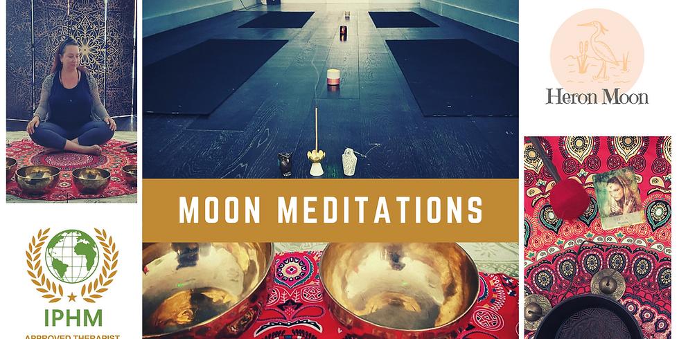 Moon Meditations with Tibetan Singing Bowls