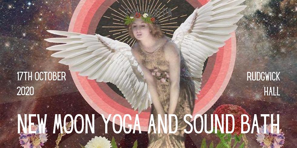 New Moon Yoga and Sound Bath