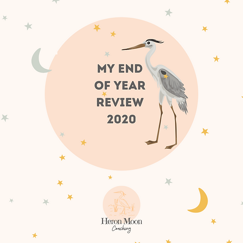 My End of Year Review 2020