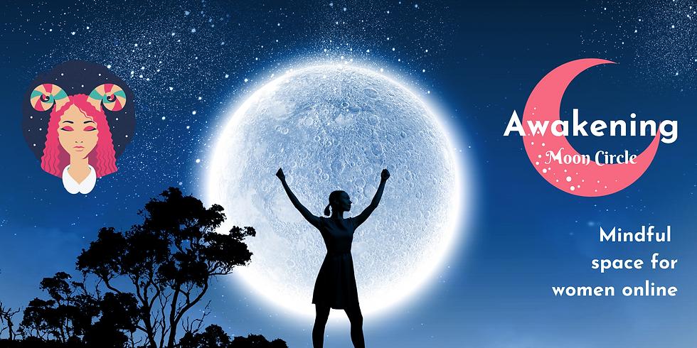 Full Moon in Aries - Online Women's Circle