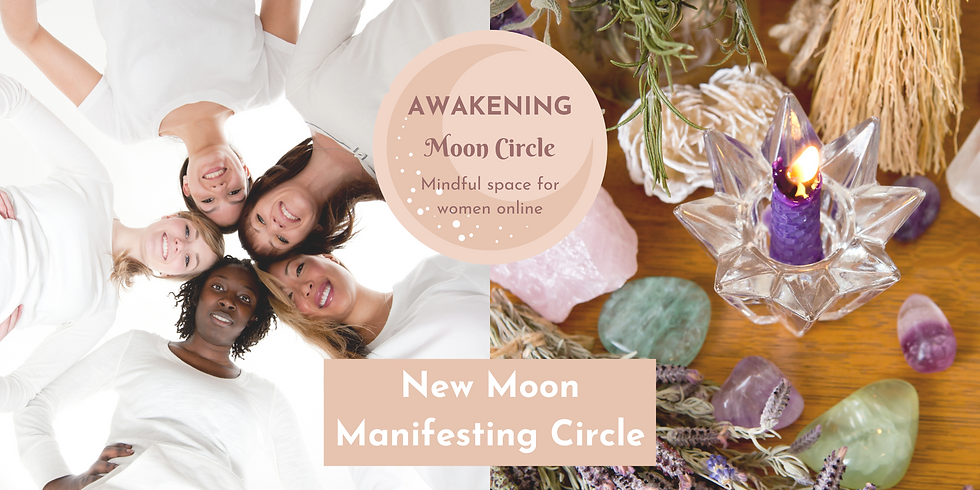 New Moon in Capricorn - Online Manifesting Circle