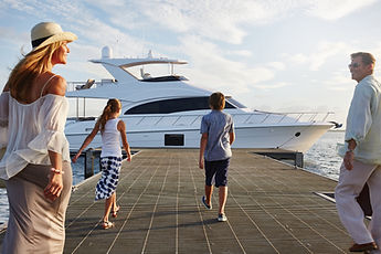 mother's day on a yacht