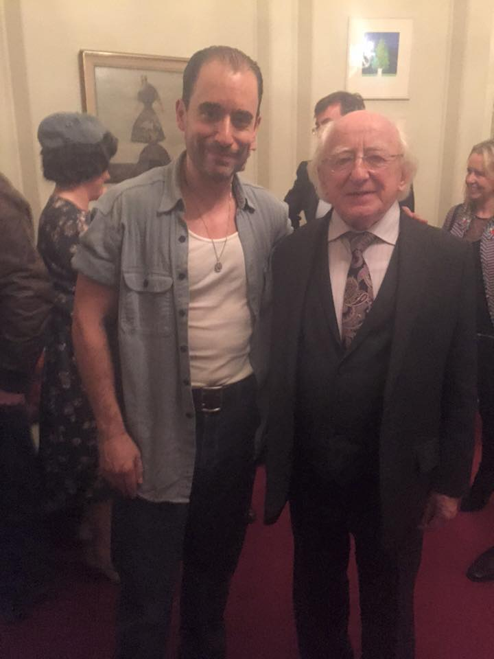 With The President of Ireland