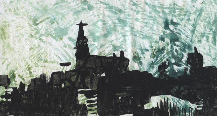 Eglise du soir