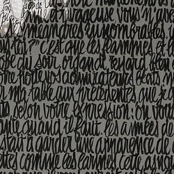 Marlène Dietrich détail calligraphie
