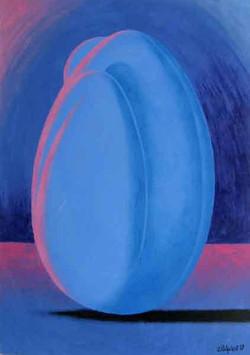 Femme-coco bleue
