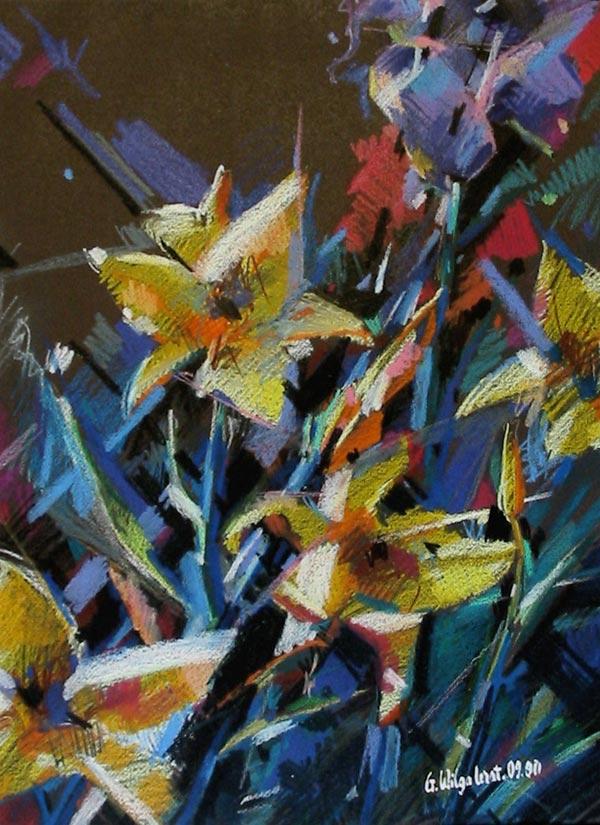 Les fleurs jaunes