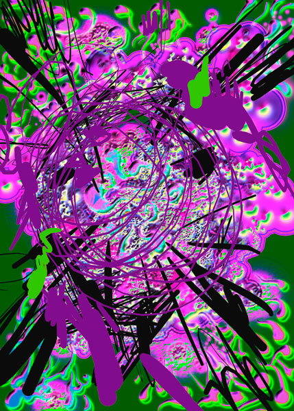 Rotation violette
