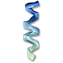 Zigzag bleu