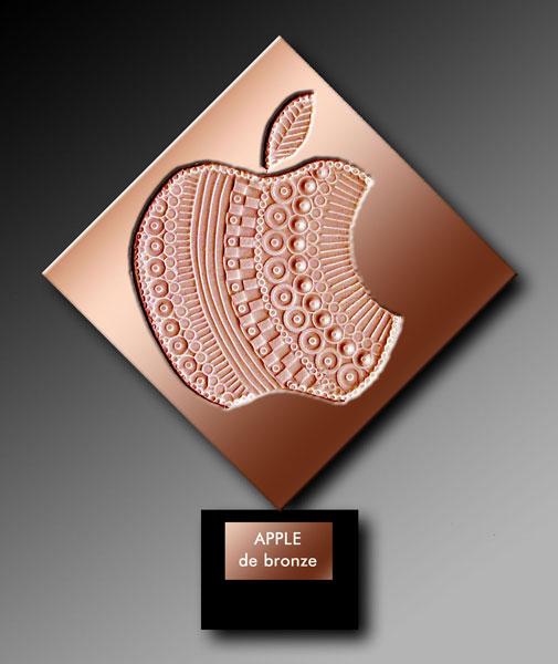 Apple de bronze