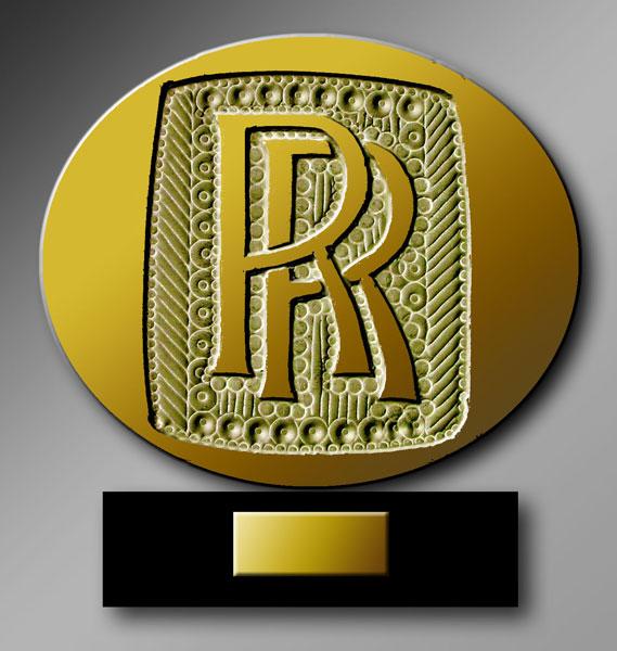 Rolls-Royce d'or