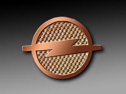 Le O de bronze Opel