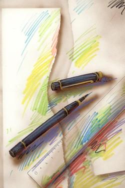 Le stylo à encre