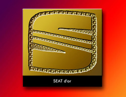 S d'or seat