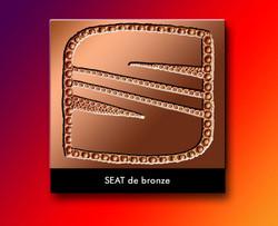 S de bronze Seat