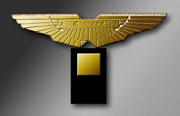 Ailes d'or Aston-Martin