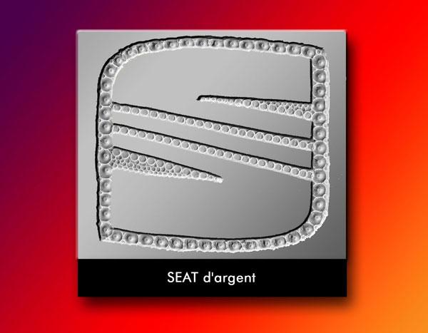 S d'argent Seat