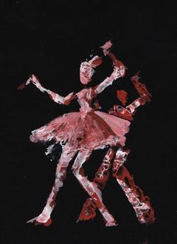 Danseurs rouges