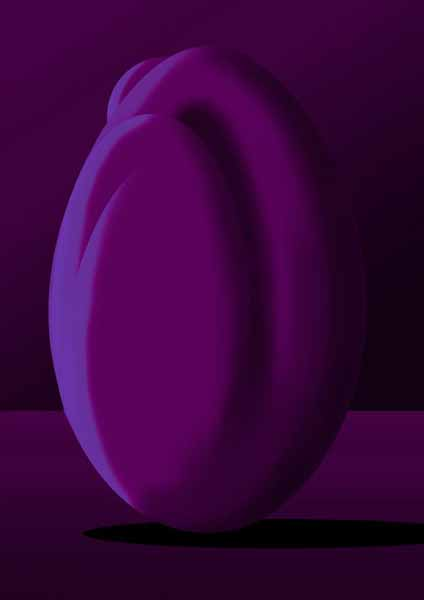 Femme-coco Violet sombre