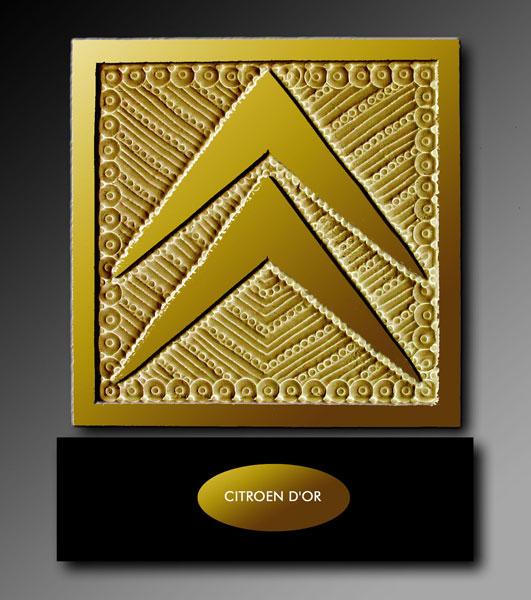 Chevrons d'or Citroen