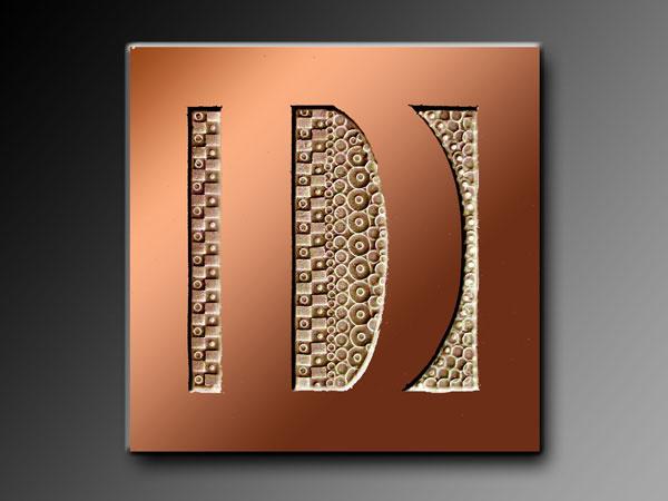 D de bronze Drouot