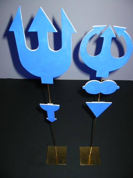 Diablotins bleus