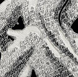 Barack Obama détail calligraphie