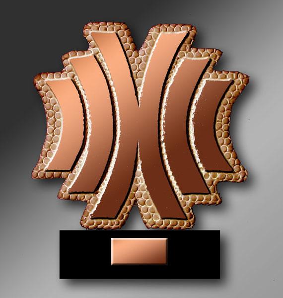 BDF de bronze banque-de-france