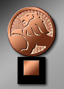 holden Lion de bronze