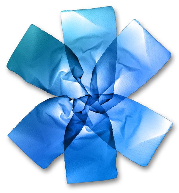 Astérisque bleu
