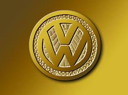 Vévé d'or Volkswagen