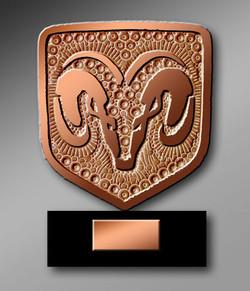 Corne de bronze Dodge