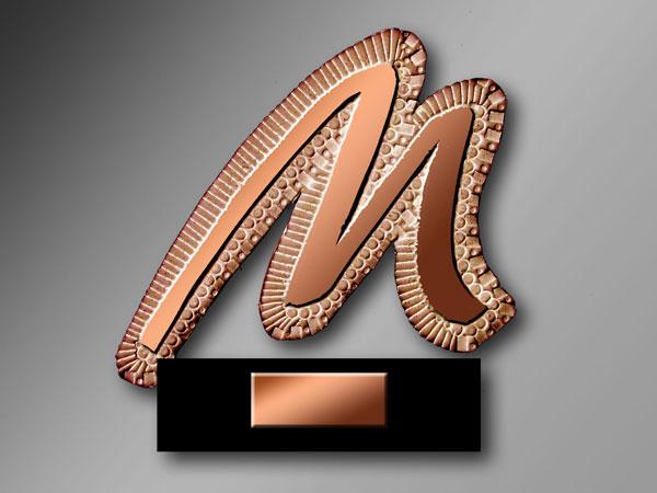 M de bronze Marrionaud