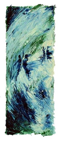 Obélisque bleu