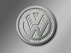 Vévé d'argent Volkswagen