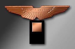 Ailes de bronze Aston-Martin