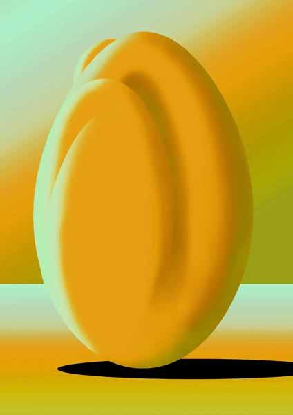 Femme-coco jaune acidulé