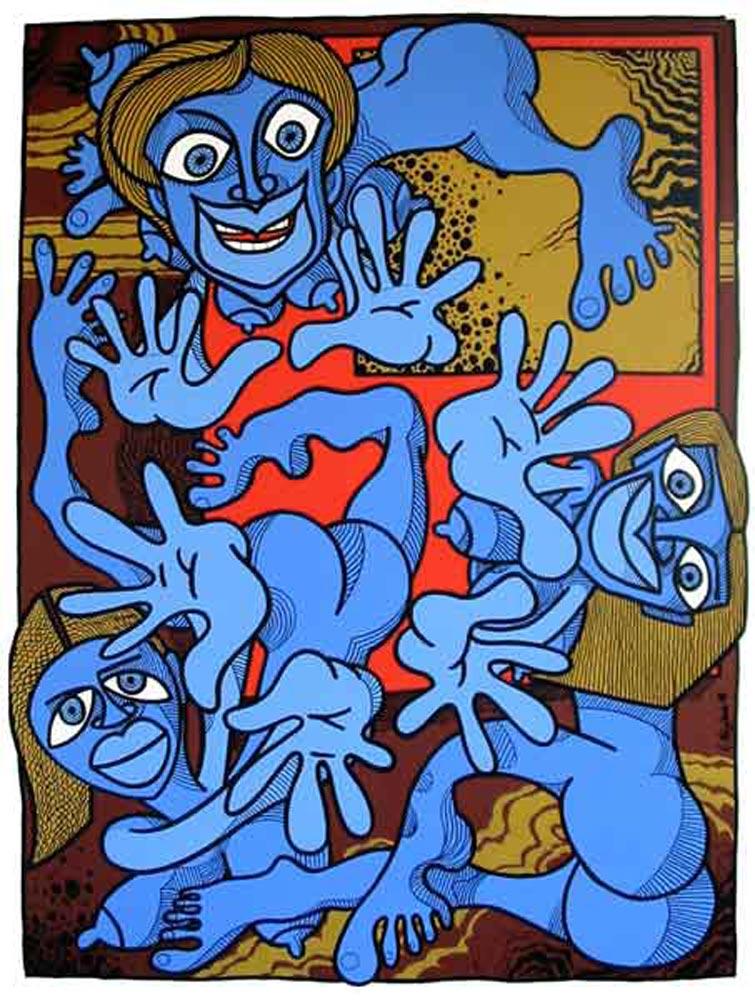 Les femmes bleues