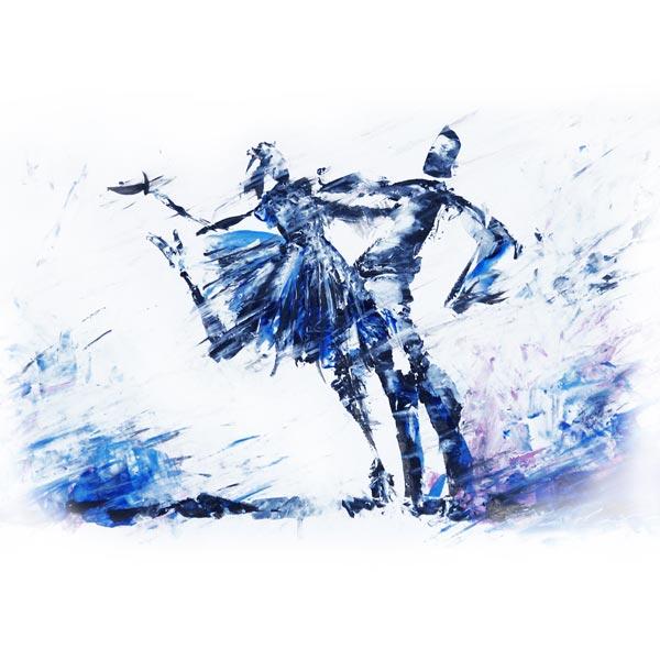 Vent d'amour bleu
