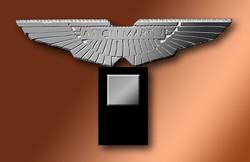 Ailes d'argent Aston-Martin