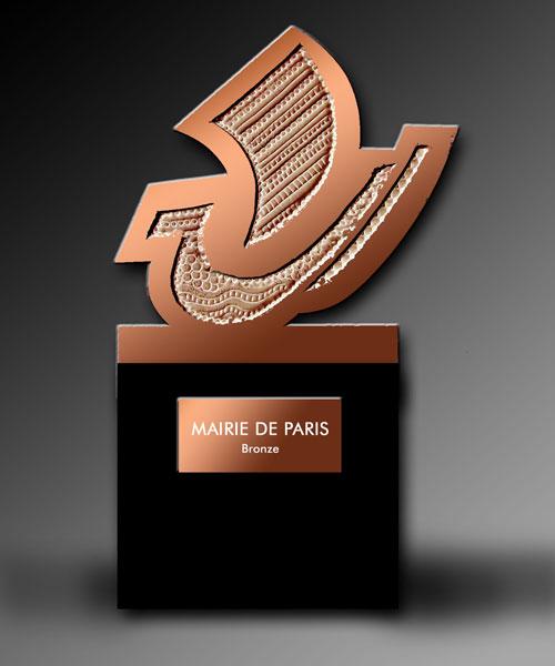 Galère de bronze Mairie-de-Paris