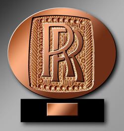 Rolls-Royce de bronze